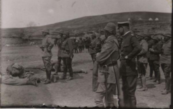 Энвер-паша во время Сарыкамышской операции