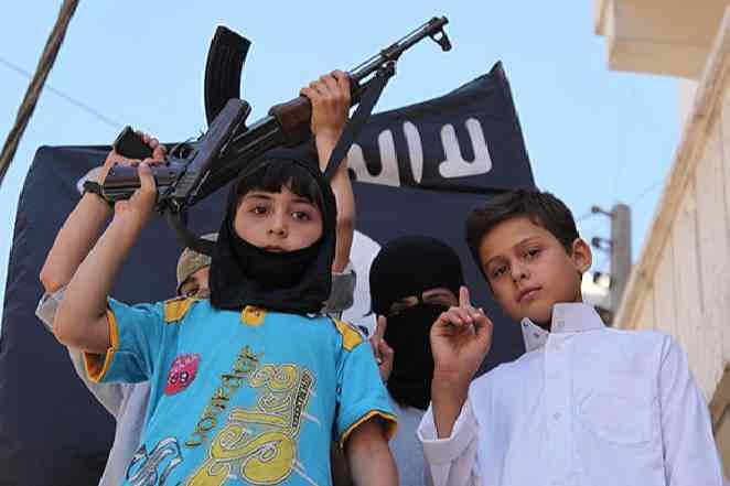 Юные мусульманские террористы