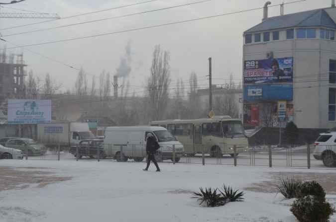 Новороссийск зима