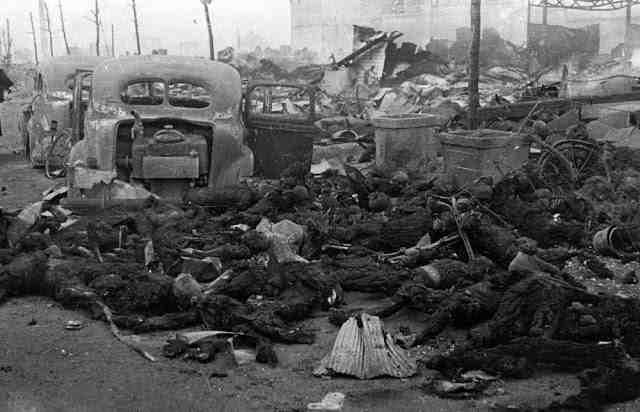 После бомбардировки Токио