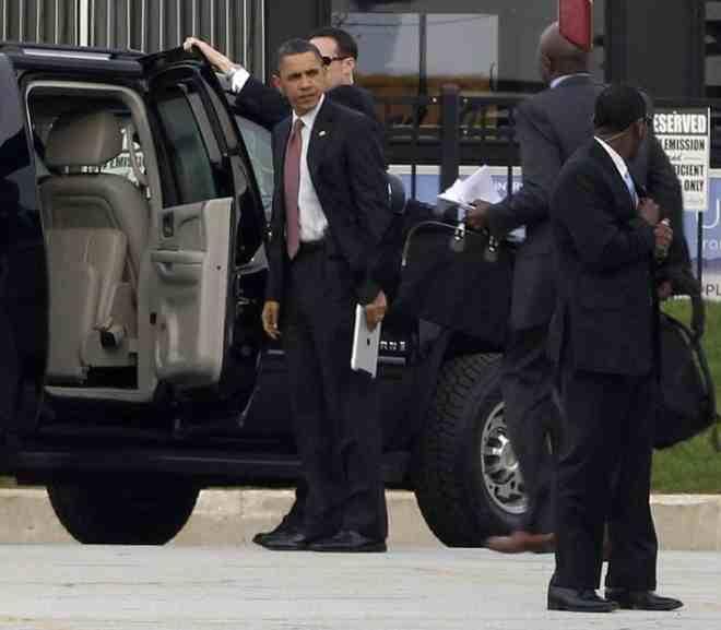 Личная охрана Обамы