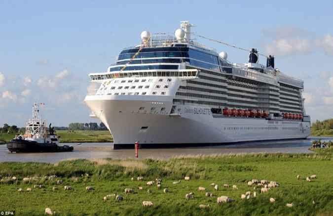 Германский пассажирский лайнер