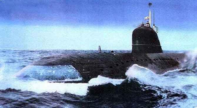 Атомная подводная лодка проекта 627А