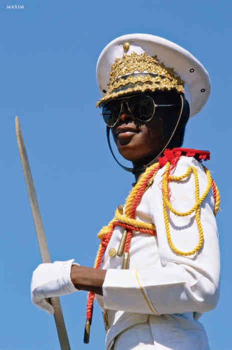 Офицер из Гаити