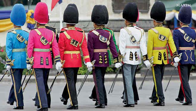 Парадная форма армии Тайланда