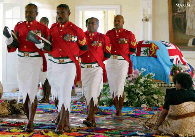 Почётный караул Фиджи