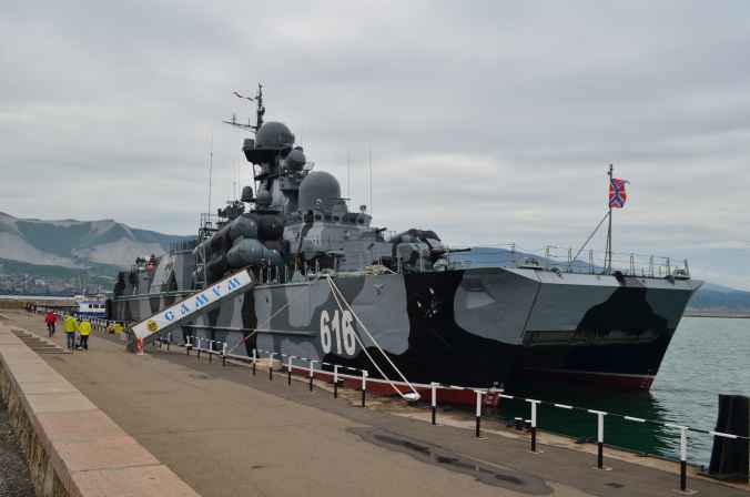 ракетный корабль Самум