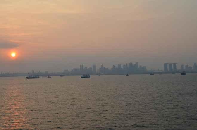 Утро в Сингапуре