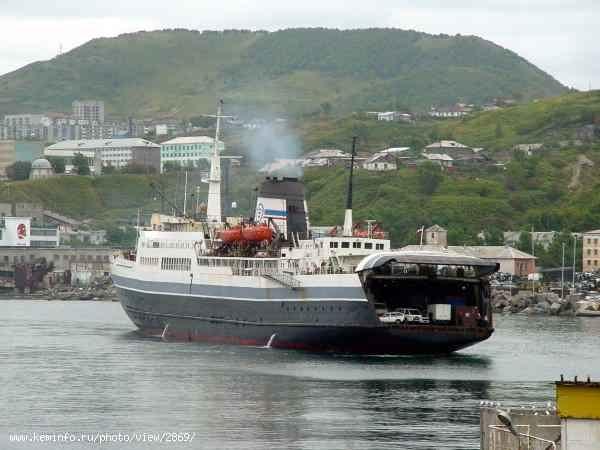 паром Сахалин-7