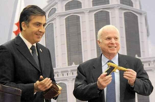 Саакашвили и Макккейн