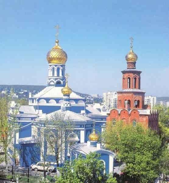 Свято - Успенский кафедральный собор Новороссийск
