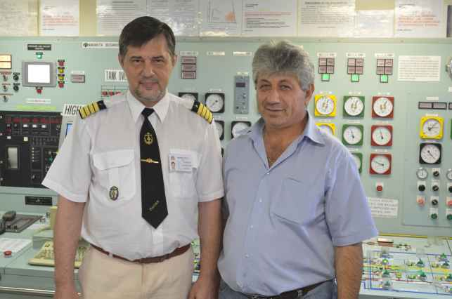 капитан Никольский и суперинтендант Michail Michail