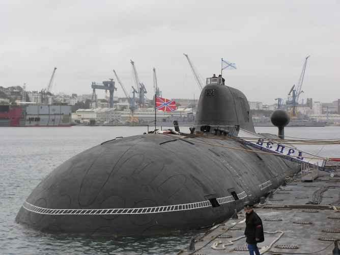 подводная лодка проекта 971 Щука-Б