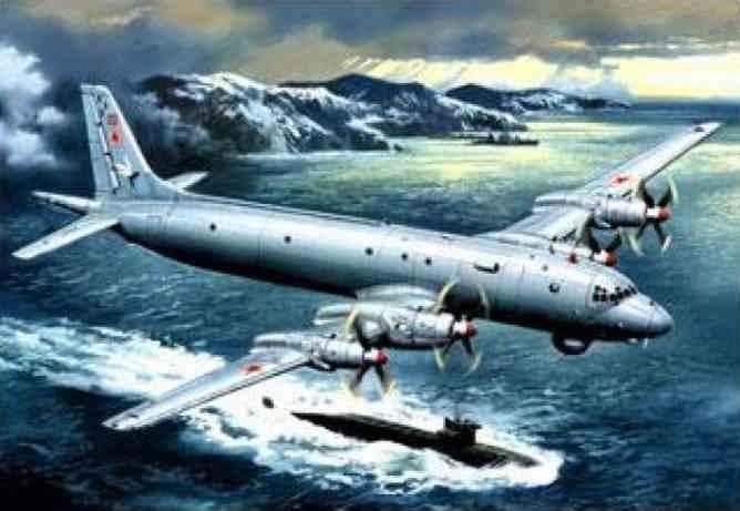 противолодочный самолёт Ил-38