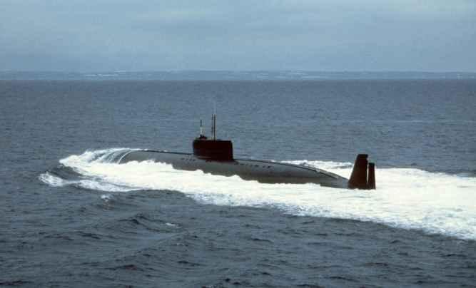 лодка проекта 661 Анчар