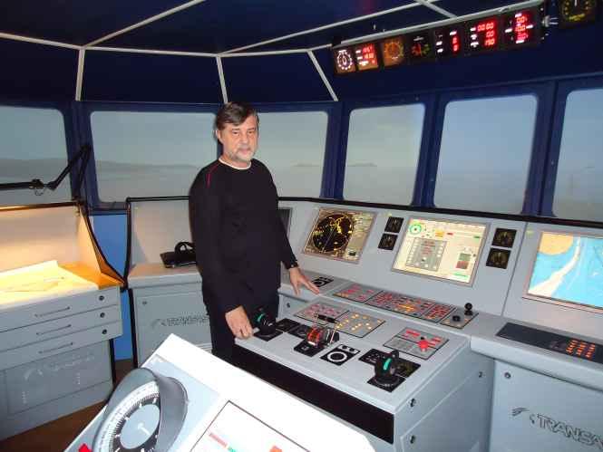 Капитан Никольский на BTM simulator