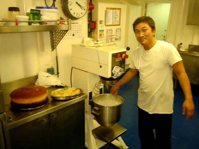 Chief cook Ramos Mamerto De Vella
