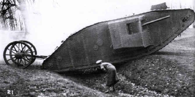 Первый танк Марк-1