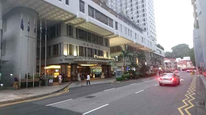 Сингапур. Peninsula hotel