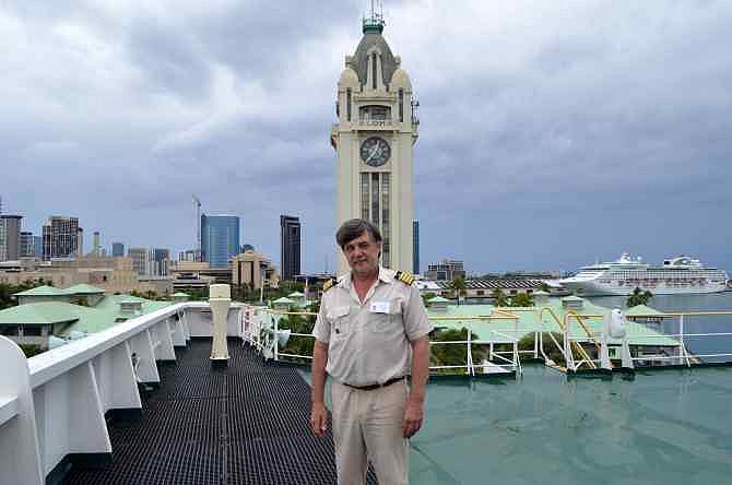 капитан Никольский в Гонолулу