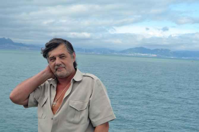 Капитан Никольский в Qingdao