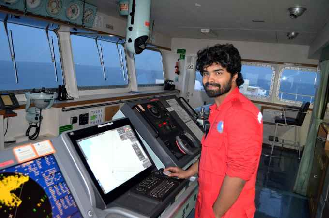 3rd Officer Rohan Shetty