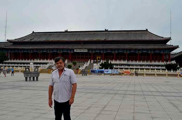 Капитан Никольский в Шанхайгуане