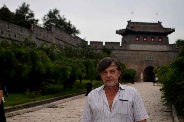 Капитан Никольский на Великой Китайской Стене