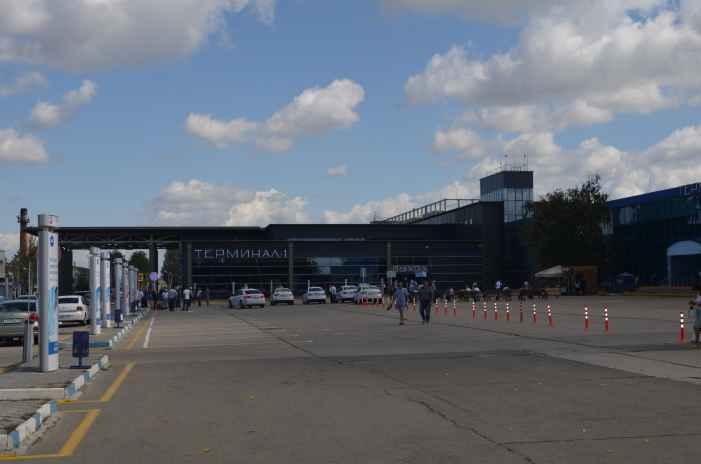 Анапа. Новый терминал аэропорта