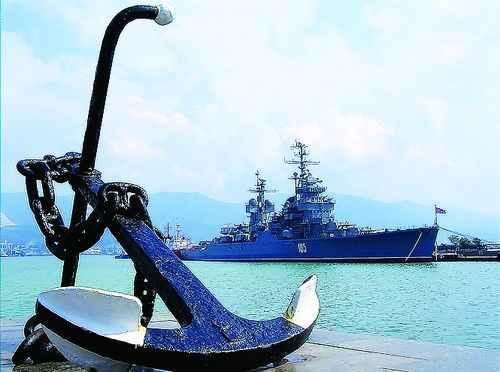 Новороссийск адмиралтейский якорь
