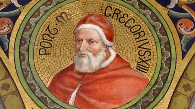 папа Римский ГРИГОРИЙ XIII