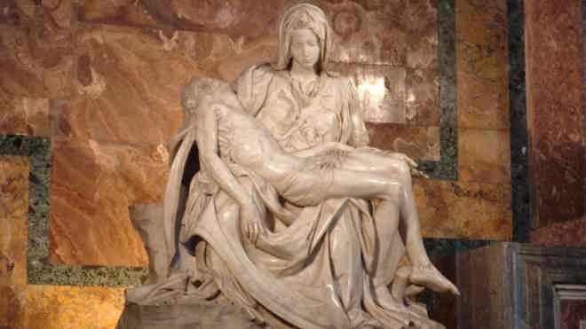 Микеланджело Буонарроти - Оплакивание