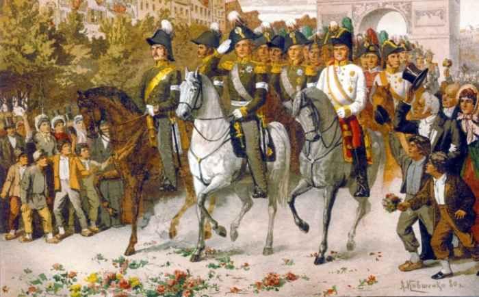 Вхезд Александра I в Париж