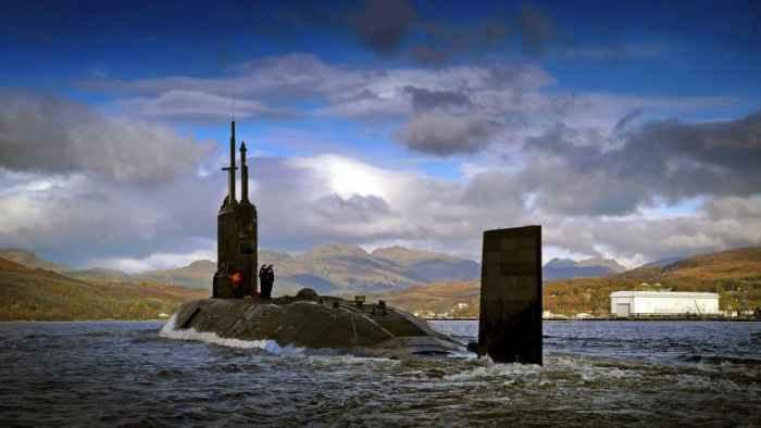 submarine Trafalgar