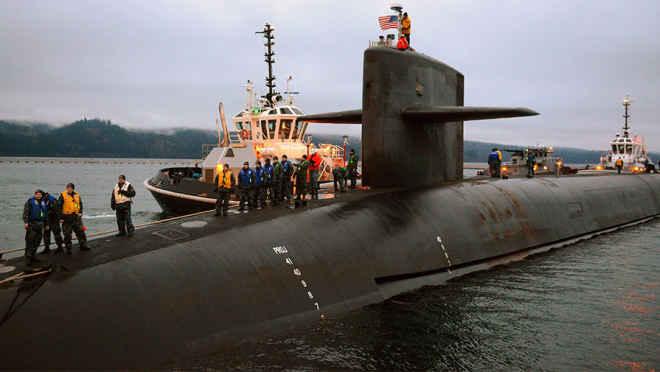 подводная лодка типа Columbia
