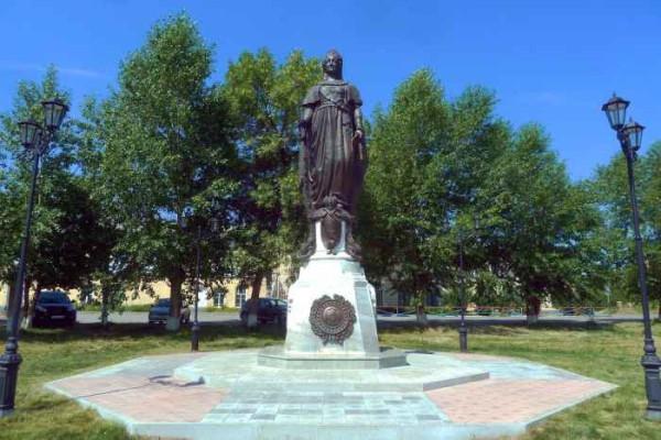Ирбит Памятник императрице Екатерине II