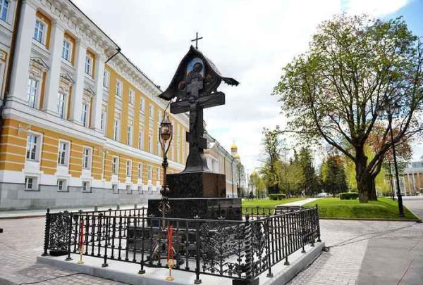 Памятник Великому Князю Сергею Александровичу в Кремле