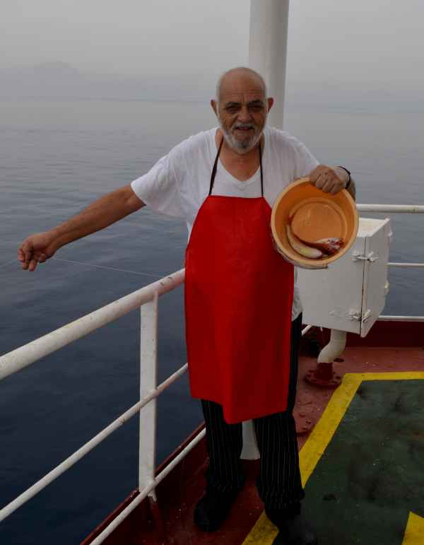 Ch Cook Panagiotis Vangelatos fishing in Fujairah