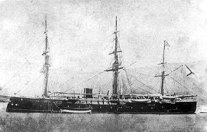 Броненосный фрегат Петропавловск