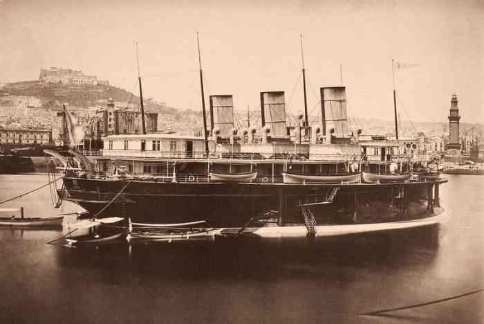 Императорская яхта Ливадия