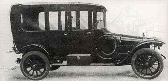 Руссо-Балт С24/35 Лимузин-Берлин