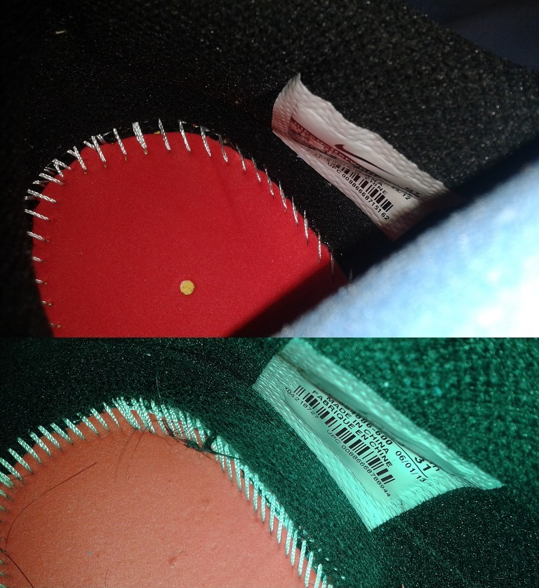 How to identify fake Nike Air Max 2013: cd_vision