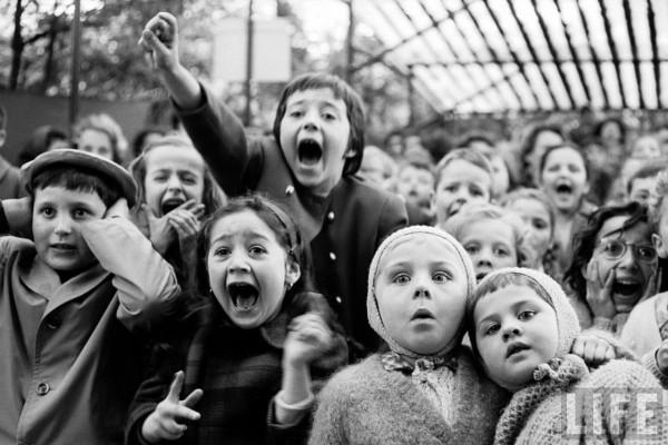 Children at a Puppet Theatre, Alfred Eisenstaedt, 1963