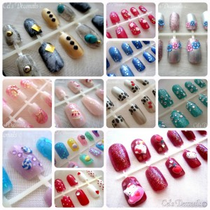Cel's Deconails nail art creations