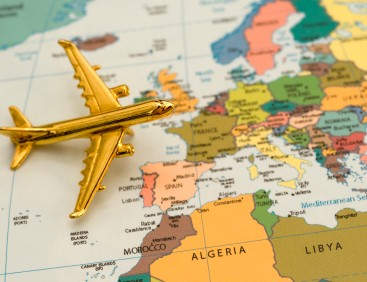 Europe Airplane