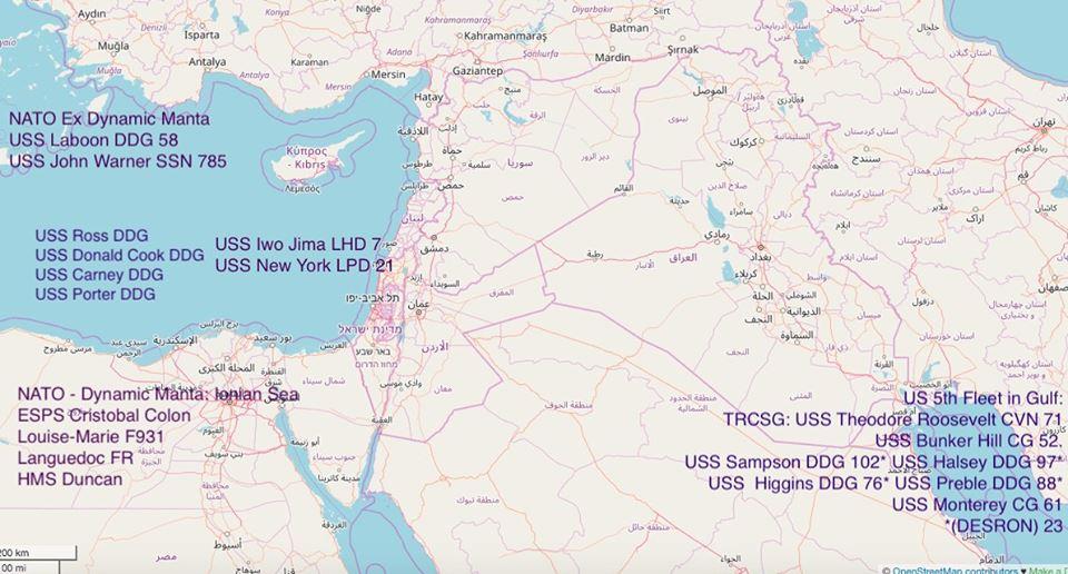 США ведут подготовку к возможному удару по Сирии