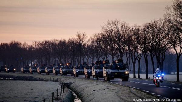 В Европе дороги и мосты оборудуют для переправки танков