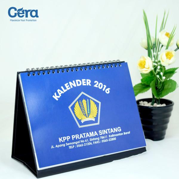 Souvenir Kantor Pajak Pratama (KPP) - Kalender Meja KPP Pratama Sintang.jpg