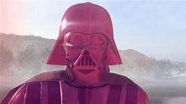 Pink Darth Vader.