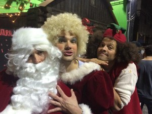 Jared and Jensen (Mr and Mrs Claus)